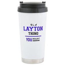 Cute Layton Travel Mug