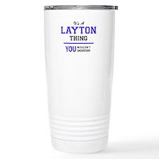 Cute Layton Travel Mug