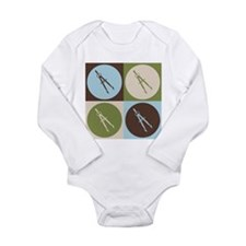 Unique Compass Long Sleeve Infant Bodysuit