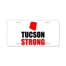 Tucson Strong Aluminum License Plate