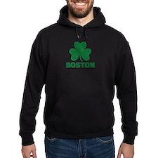 Boston shamrock Hoodie