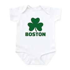 Boston shamrock Infant Bodysuit