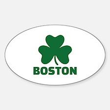 Boston shamrock Decal