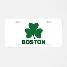 Boston shamrock Aluminum License Plate