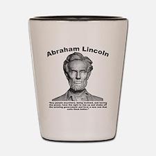 Lincoln: Revolt Shot Glass