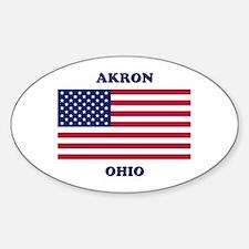 Akron Ohio Decal