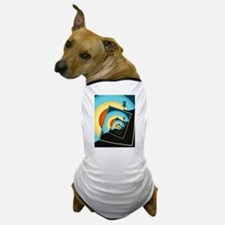 Spinning Disc Golf Baskets 1 Dog T-Shirt
