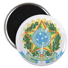 Brasil Coat of Arms Magnets