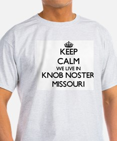 Keep calm we live in Knob Noste T-Shirt