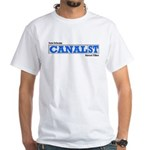 Canal Street Tiles White T-Shirt