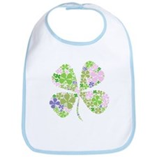 Lucky Multi Four-Leaf Clover Bib