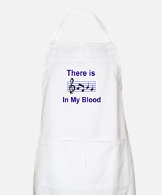 There is music in my blood Apron