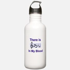 There is music in my blood Water Bottle