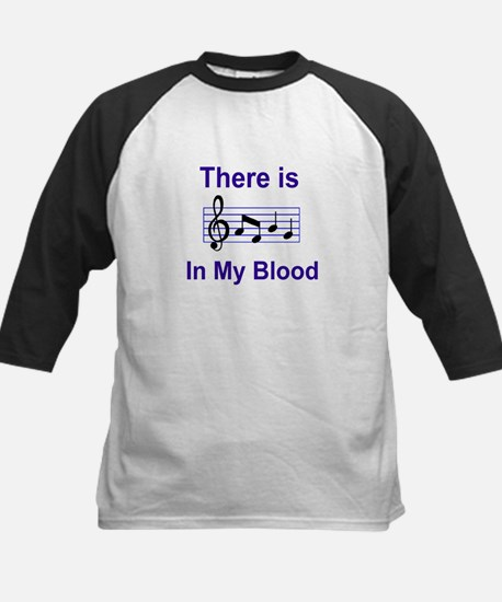 There is music in my blood Baseball Jersey