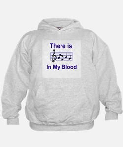 There is music in my blood Hoodie