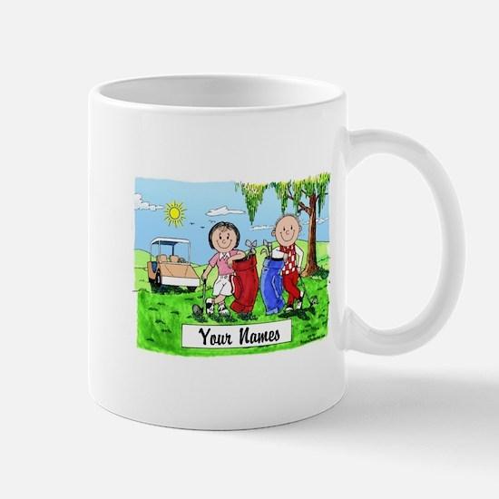 Cute Golf cartoon Mug
