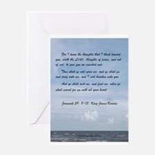 Jeremiah 29 Promise Greeting Card