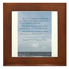 Jeremiah 29 Promise Framed Tile