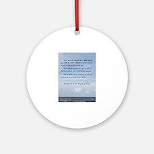 Jeremiah 29 Promise Round Ornament