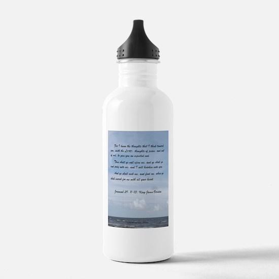 Jeremiah 29 Promise Water Bottle