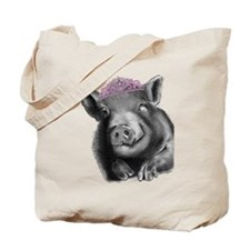 Princess lucy the wonder pig Tote Bag