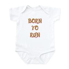 Born To Run 2 Infant Bodysuit