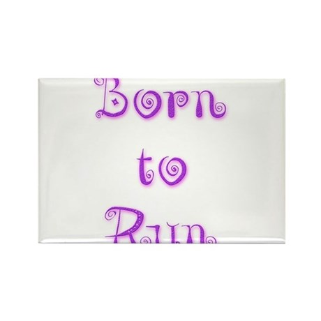 Born To Run 5 Rectangle Magnet