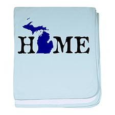 HOME - Michigan baby blanket