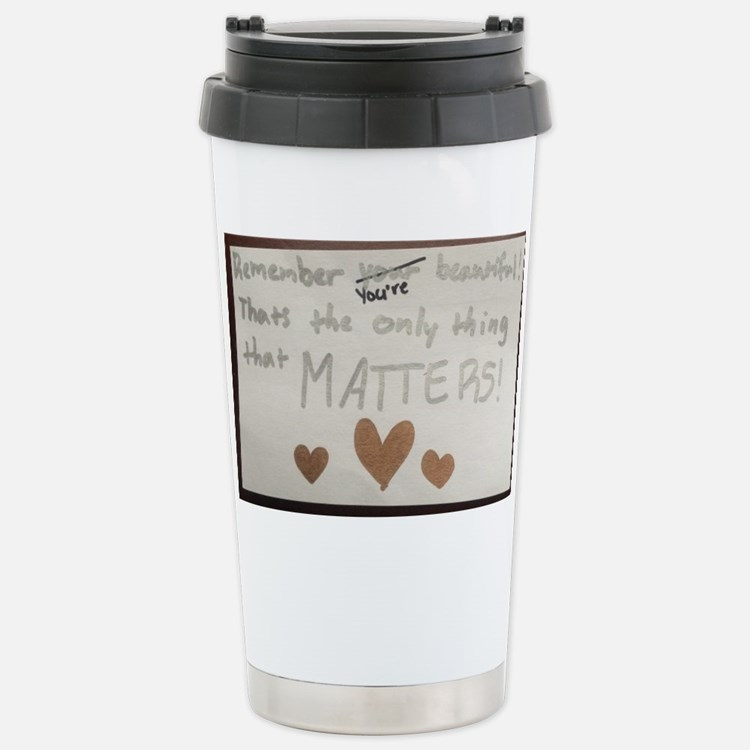 Cute K quote Travel Mug