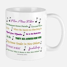 Mardi Gras Music Mug