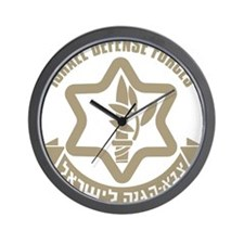 Israel Defense Forces (IDF) Wall Clock