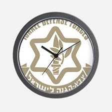Israel Defense Forces (IDF) Wall Clock
