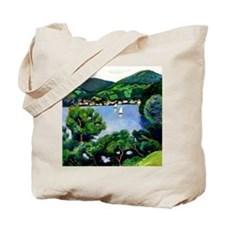 Macke - View of Tegernsee Tote Bag