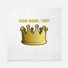 Custom Crown Queen Duvet