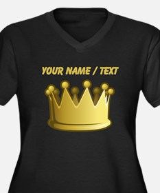 Custom Crown Plus Size T-Shirt