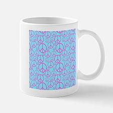 Colorful Peace Signs Mugs