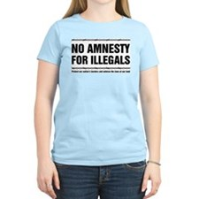No Amnesty for Illegals T-Shirt