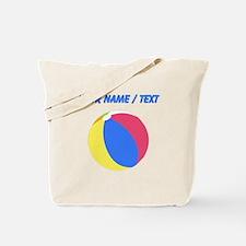Custom Beach Ball Tote Bag