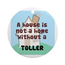 Toller Home Ornament (Round)