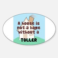Toller Home Oval Decal