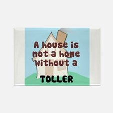Toller Home Rectangle Magnet