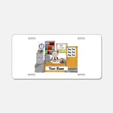 Office, Male Aluminum License Plate