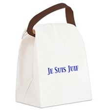 Je Suis Juif Canvas Lunch Bag