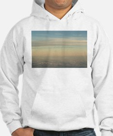 Sky with clouds in blue and pink Hoodie