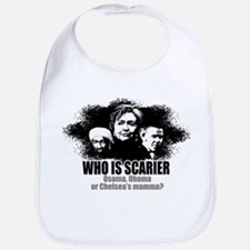 Osama, Obama & Chelsea's Mamm Bib
