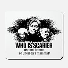 Osama, Obama & Chelsea's Mamm Mousepad