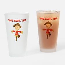 Custom Scarecrow Drinking Glass