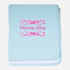 WELCOME HOME BABY baby blanket