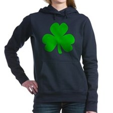 Three Leaf Clover Women's Hooded Sweatshirt