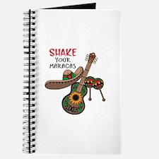 SHAKE YOUR MARACAS Journal